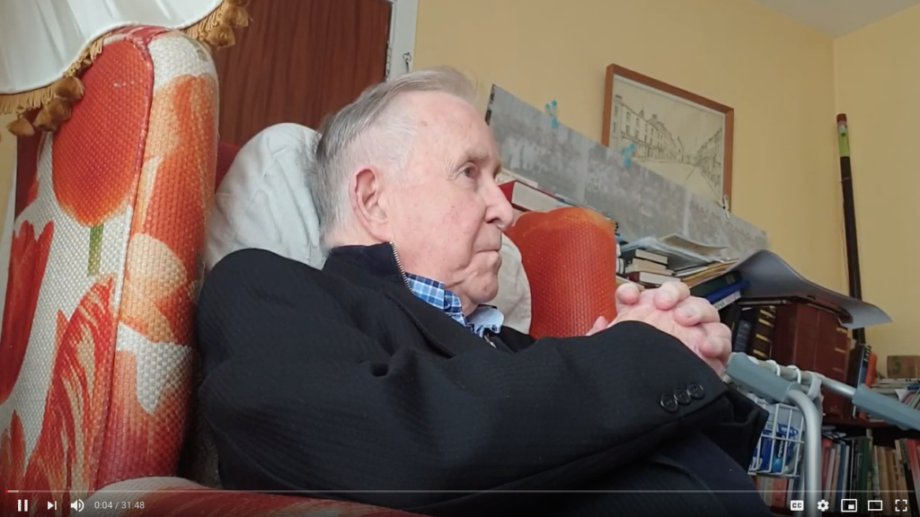 Watch the Interview with Monsignor Eamon Marron – former Professor in All Hallows (1956-65)